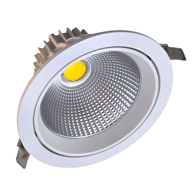 Round COB adjustable 22W, Warm White